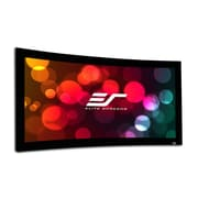 Elite Screens Lunette Series Matte White Fixed Frame Projection Screen; 200'' Diagonal
