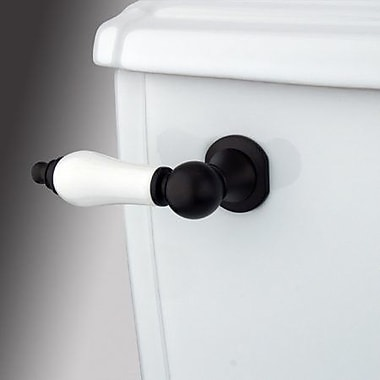 Elements of Design Made to Match Decorative Porcelain Tank Lever Arm; Oil Rubbed Bronze
