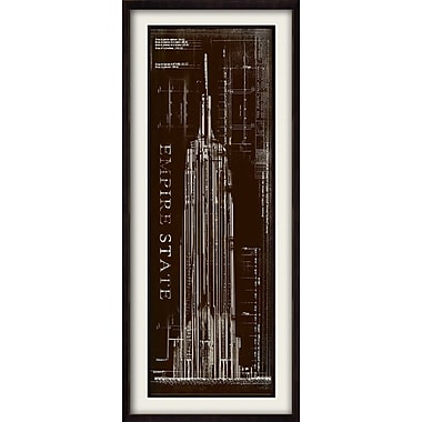 PTM Images Empire State Framed Graphic Art