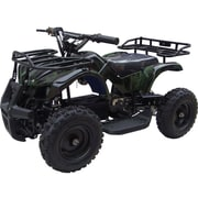 Big Toys MotoTec 24v Mini Quad v4 Wagons ATV; Camo by