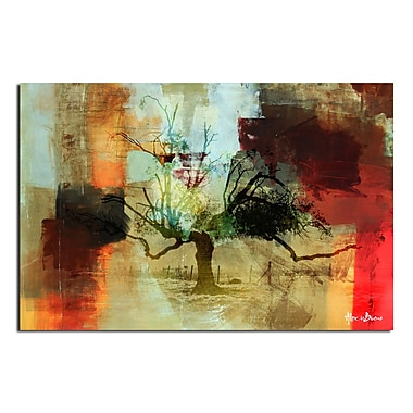 Ready2hangart Abstract Landscape II' Graphic Art on Canvas