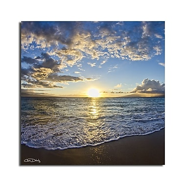 Ready2hangart 'Sun and Sea' by Christopher Doherty Framed Photographic Print on Wrapped Canvas
