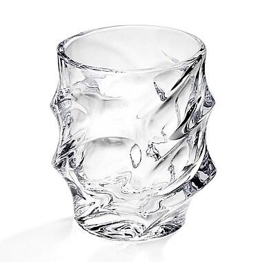 Studio Silversmiths Swirl Crystal Vase