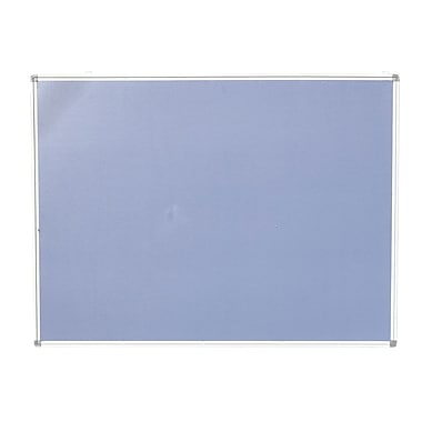 NeoPlex Aluminum Framed Wall Mounted Bulletin Board; 3' H x 4' W