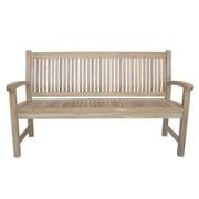 Anderson Teak Sahara Teak Garden Bench; 59'' W