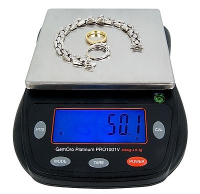 GemOro Pro 1001V Countertop Scale