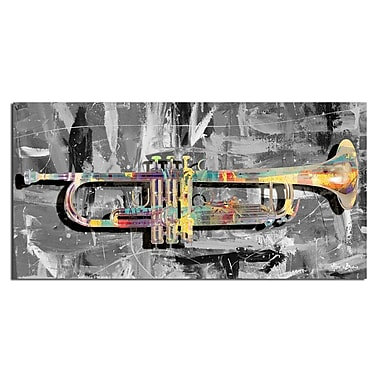 Ready2hangart The Color of Jazz XV' Graphic Art on Canvas