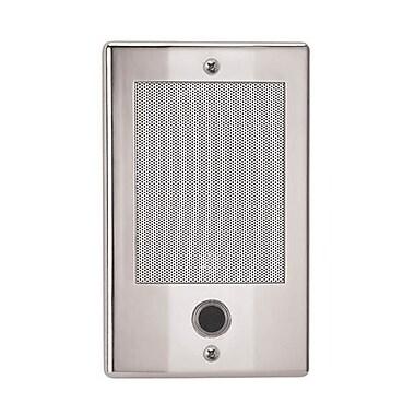 NuTone Door Speakers for Intercoms; Nickel
