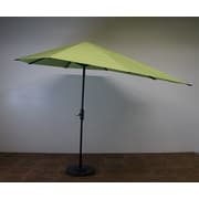 Shade Trend 16' Market Umbrella; Parrot Green