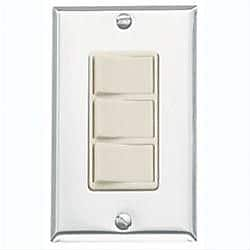 Broan 3 Function Control; Ivory