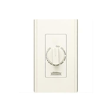 Broan Electronic Variable Speed Control; Ivory