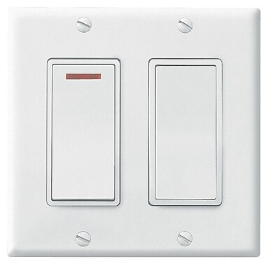 Broan 2 Function Control; White