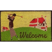 A1 Home Collections LLC Golf Doormat