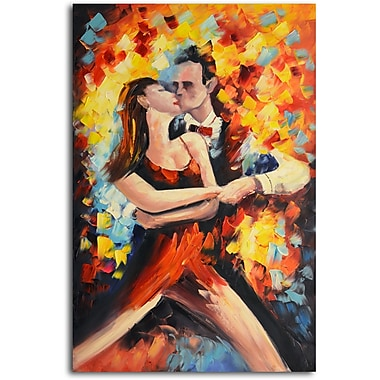 Omax Decor Tangoed in Love' Painting on Canvas