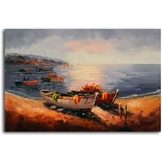 Omax Decor Sea Trade Connection' Painting on Canvas