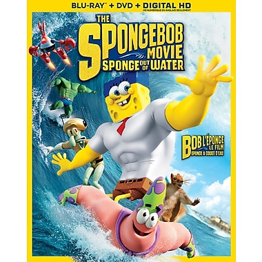 The Spongebob Movie: Sponge Out of Water (Blu-ray/DVD)