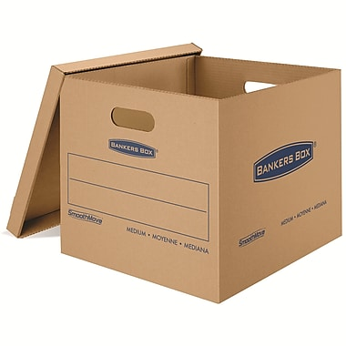 Bankers Box® Smoothmove Classic Moving Box, Medium, 8/Pack (7717201)