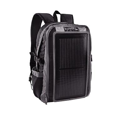 EnerPlex Universal Packr Base Solar Powered Backpack, Grey/Black