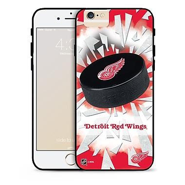 LNH – Étui Red Wings de Detroit, rondelle et éclats, pour iPhone 6, édition limitée