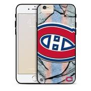 LNH – Étui Canadiens de Montréal, grand logo, pour iPhone 6, édition limitée