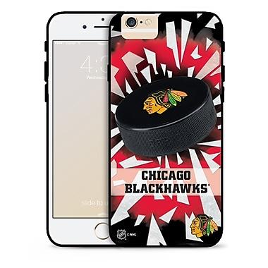 LNH – Étui Blackhawks de Chicago, rondelle et éclats, pour iPhone 6, édition limitée