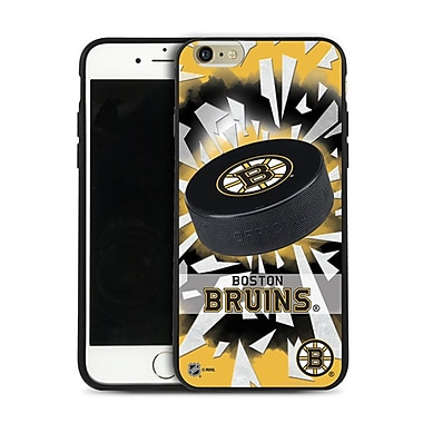 NHL iPhone 6 Plus Boston Bruins Puck Shatter Cover Limited Edition