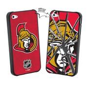 LNH – Étui des Sénateurs d'Ottawa pour iPhone 5/5s, glace brisée, édition limitée