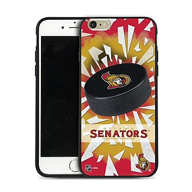 NHL iPhone 6 Plus Ottawa Senators Puck Shatter Cover Limited Edition