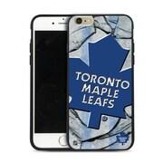 LNH – Étui Maple Leafs de Toronto, grand logo, pour iPhone 6 Plus, édition limitée