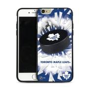 LHN – Étui Maple Leafs de Toronto, rondelle et éclats, pour iPhone 6 Plus, édition limitée