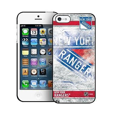LNH – Étui Rangers de New York, givré, pour iPhone 5/5S, édition limitée