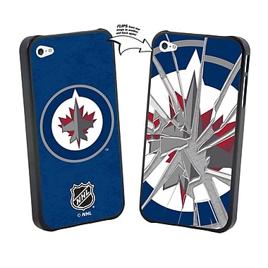 NHL iPhone 5/5S Winnipeg Jets Broken Glass Case Limited Edition