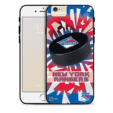 NHL iPhone 6 New York Rangers Puck Shatter Cover Limited Edition
