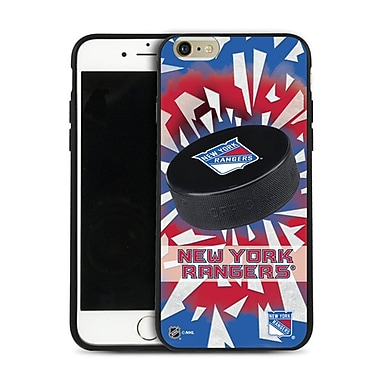 NHL iPhone 6 Plus New York Rangers Puck Shatter Cover Limited Edition