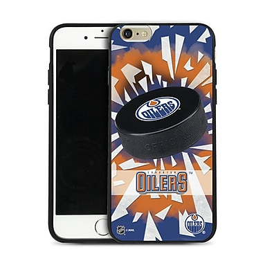 NHL iPhone 6 Plus Edmonton Oilers Puck Shatter Cover Limited Edition