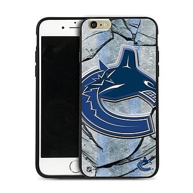 LNH – Étui Canucks de Vancouver, grand logo, pour iPhone 6 et plus, édition limitée
