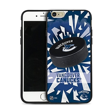 NHL iPhone 6 Plus Vancouver Canucks Puck Shatter Cover Limited Edition