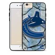 LNH – Étui Canucks de Vancouver, grand logo, pour iPhone 6, édition limitée