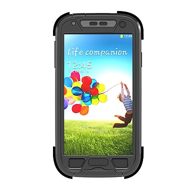 Dog and Bone Samsung Galaxy S4 Wetsuit Case, Blackest Black