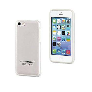 Muvit – Étui Bimat pour iPhone 5c, blanc