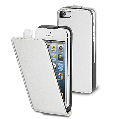 Muvit – Étui mince pour iPhone 5/5s, blanc