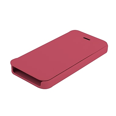 Muvit – Étui Easy Folio pour iPhone 5/5s, rose