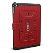UAG – Étui Folio Rogue pour iPad Air 2 de 6e génération, rouge/noir