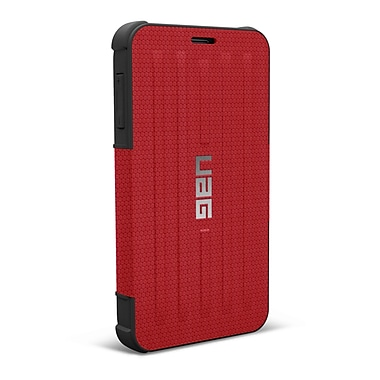 UAG Samsung Galaxy Note 4 Rogue Folio Case, Red/Black