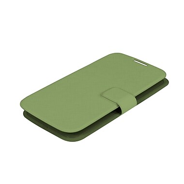 Muvit – Étui ultra mince Bookstyle pour Samsung Galaxy S4, vert