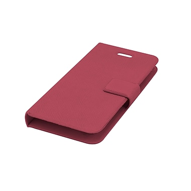 Muvit – Étui ultra mince BookStyle pour iPhone 5/5s, rose