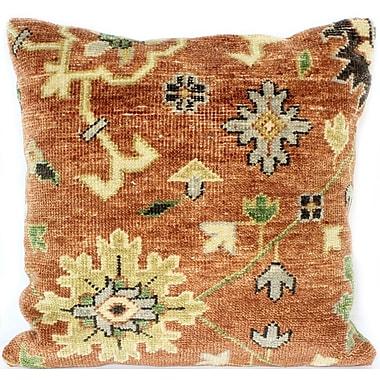 Bashian Rugs Ridgewood Throw Pillow; 18'' H x 18'' W x 0.75'' D