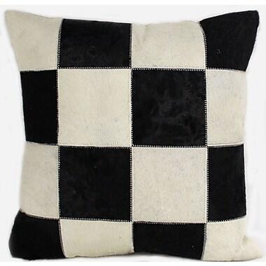 Bashian Rugs Dakota Throw Pillow; 24'' H x 24'' W