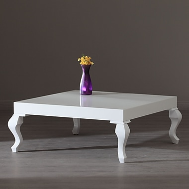 La Viola D cor Lukens Coffee Table; White