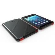 Dog and Bone – Étui hydrofuge pour iPad Air de 5e génération, rouge/noir